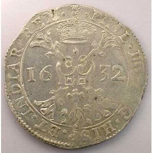 Patagon   Philippe IV (1621-1665)   1632 Anvers    TTB+
