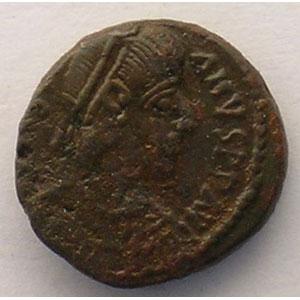 Penta de bronze   Carthage    TTB/TTB+