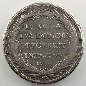 Piastre   1684  IX    TTB+
