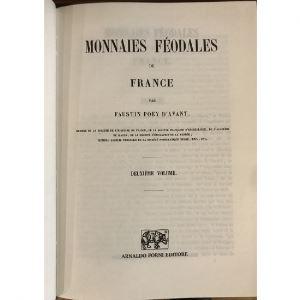 POEY D'AVANT   Monnaies Féodales de France