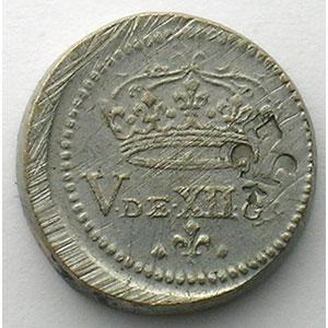 Poids monétaire du Demi-Franc    SUP