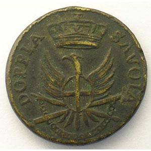 Poids monétaire du Doppia de Savoie    TTB