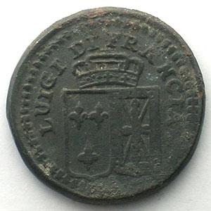 Poids monétaire italien pour le Louis    TB