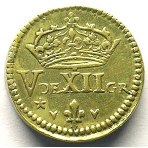 Poids monétaire pour le Demi-Franc    TTB