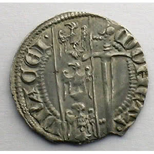 Numismatic foto  Coins Coins of Lorraine Duchy of Lorraine Ferri IV   (1312-1329) Quart de Gros dit Spadin   Nancy    TTB+/SUP