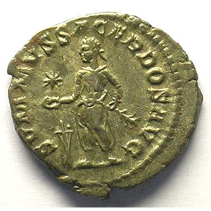 R/ SVMMVS SACERDOS AVG   (Rome 221-222)    TTB