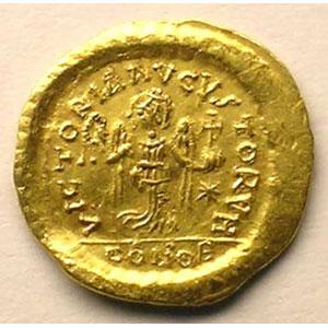 R/ VICTORIA AGVSTORVM   (Constantinople)    TTB+