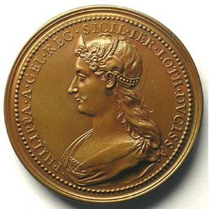 René II   bronze   44,5 mm    SUP