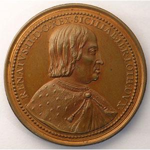 René II   bronze   45 mm    SUP