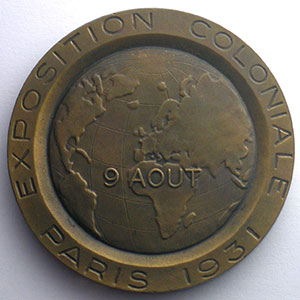 Robert H.   Honneur aux Anciens Combattants   bronze   50mm    SUP