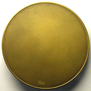 SARRABEZOLLES 1955   bronze uniface   80mm    SUP