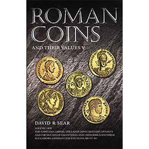 SEAR   Roman Coins   tome V   337-491  (de Constantin II à Zénon)
