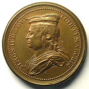 Simon II   bronze   46 mm    TTB+/SUP