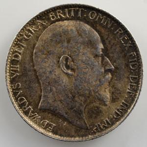 Six pence   1902    SUP