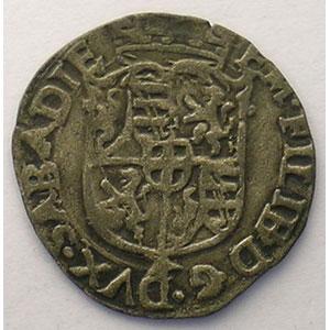 Soldo   Emmanuel Philibert  (1553-1580)   1569 EB  étoile  (Chambéry)    TTB