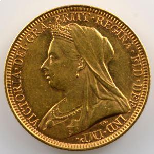 Souverain / Sovereign   1894 M (Melbourne)    SUP