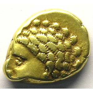 Statère d'or à la Lyre    TTB