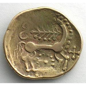 Statère d'or   (milieu du 2° siècle av. JC)    TB+
