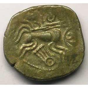 Statère de billon  1er siècle av.JC    TTB