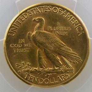 Ten Dollars   1910 S  (San Francisco)   Indian Head    PCGS-AU55    TTB+/SUP