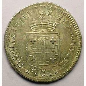 Teston 1716 ou 1717 réformé    TTB