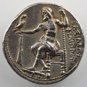 Tétradrachme   Philippe III Arrhidée (323-317 av.JC)   SALAMIS (Chypre)    TTB+/SUP