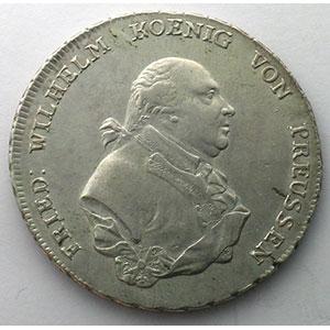 Thaler   1793 A  (Berlin)    TTB/TTB+
