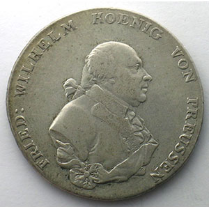 Thaler   1795 A  (Berlin)    TB+