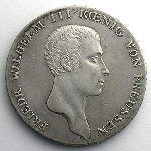 Thaler   1816 A  (Berlin)    TTB+
