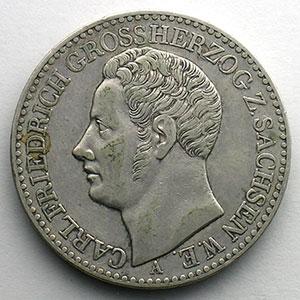 Thaler   1841 A    TB+/TTB