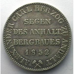 Thaler   1852 A    TTB