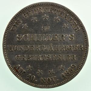 Thaler   1859   TB+/TTB