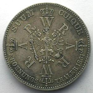 Thaler   1861 A    TTB