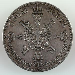 Thaler   1861    TTB