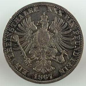Thaler   1867 A    TTB