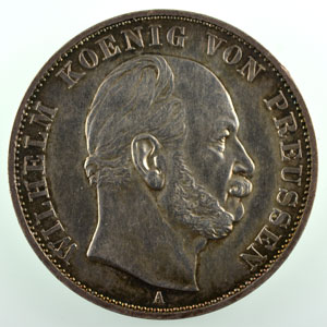 Thaler  1871 A   Victoire de 1871 sur la France    SUP