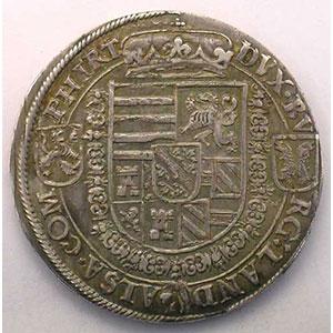 Thaler   Ferdinand, Archiduc (1564-1595)   nd   Ensisheim    TTB+/SUP