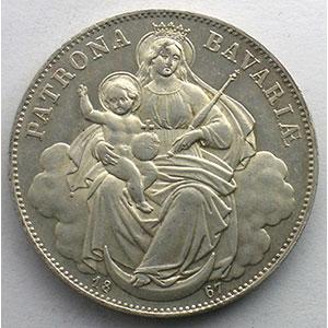 Vereinstaler   1867    SUP