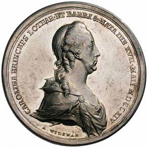 Wideman   Médaille en argent   43mm   1773    SUP/FDC