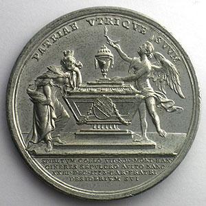 Wideman   Médaille en étain   43mm   1773    SUP