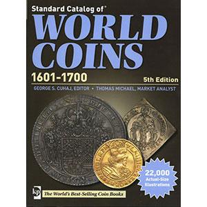 WORLD COINS XVII° siècle    5° édition 2012
