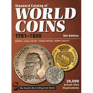 WORLD COINS XVIII° siècle   5° édition 2011